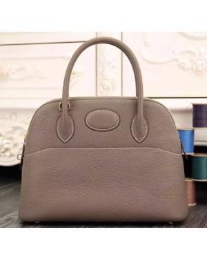 Hermes Bolide 31cm Togo Leather Elephant Grey Bag