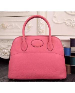 Hermes Bolide 31cm Togo Leather Pink Bag